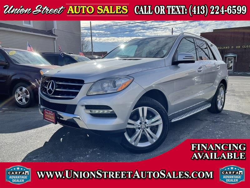 Used Mercedes-Benz M-Class 4MATIC 4dr ML350 2014 | Union Street Auto Sales. West Springfield, Massachusetts