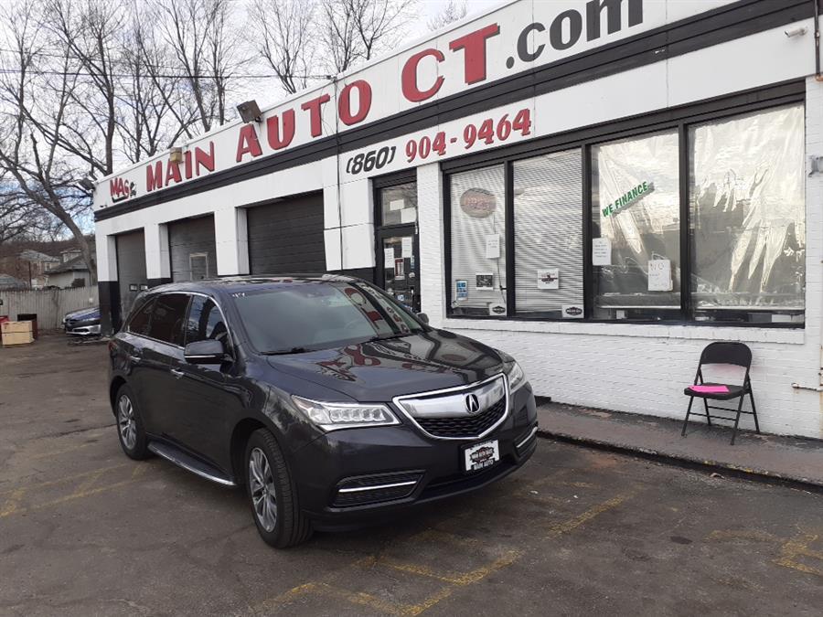 Used Acura MDX SH-AWD 4dr Tech/Entertainment Pkg 2014 | Main Auto Sales LLC. Hartford, Connecticut