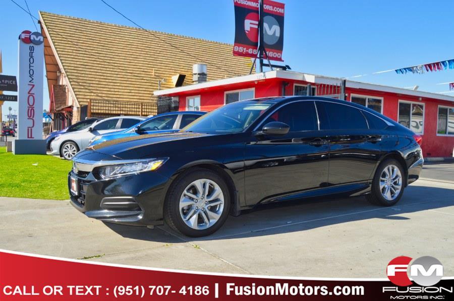 Used 2019 Honda Accord Sedan in Moreno Valley, California | Fusion Motors Inc. Moreno Valley, California