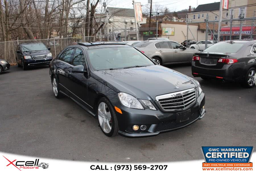 Used 2010 Mercedes-Benz E-Class 4Matic in Paterson, New Jersey | Xcell Motors LLC. Paterson, New Jersey