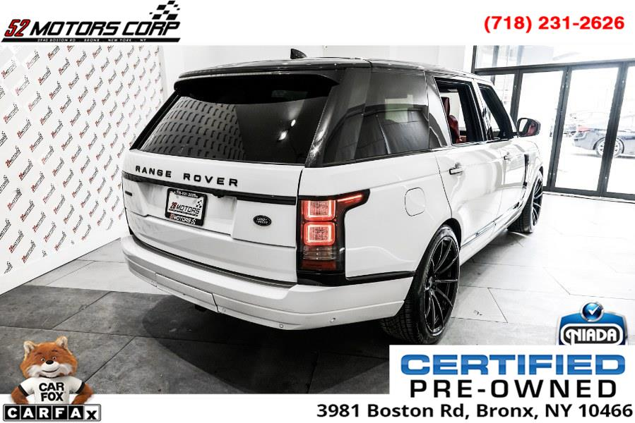 Used Land Rover Range Rover V8 Supercharged Autobiography LWB 2017 | 52Motors Corp. Woodside, New York