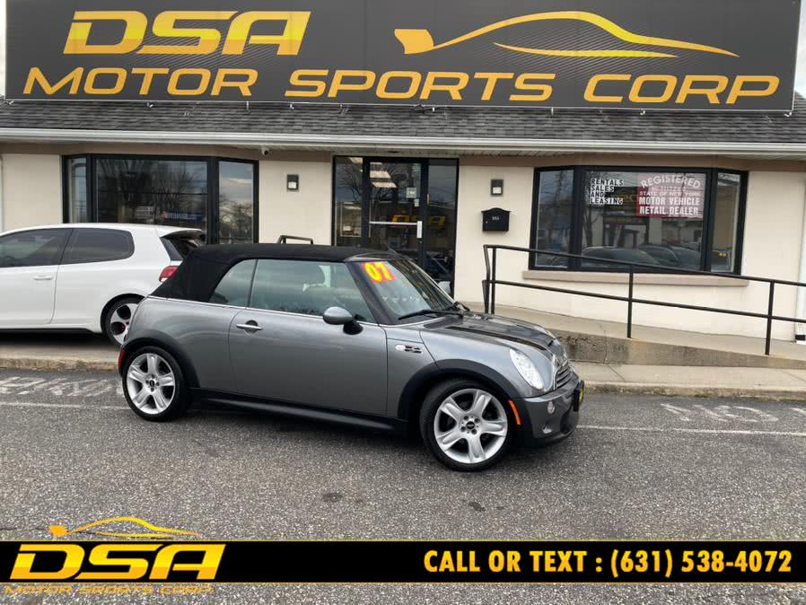 Used 2007 MINI Cooper Convertible in Commack, New York | DSA Motor Sports Corp. Commack, New York