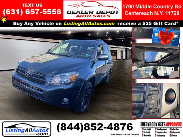 Used Toyota Rav4 4WD 4dr 4-cyl 4-Spd AT Sport (Natl) 2008 | www.ListingAllAutos.com. Patchogue, New York