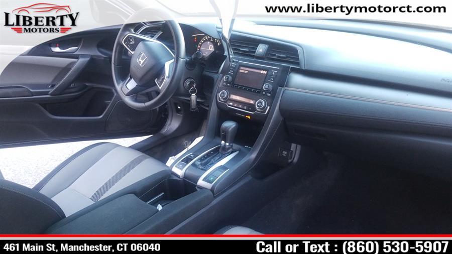 Used Honda Civic 2dr Cpe 2017 | Liberty Motors. Manchester, Connecticut