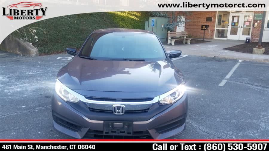 Used 2017 Honda Civic in Manchester, Connecticut | Liberty Motors. Manchester, Connecticut