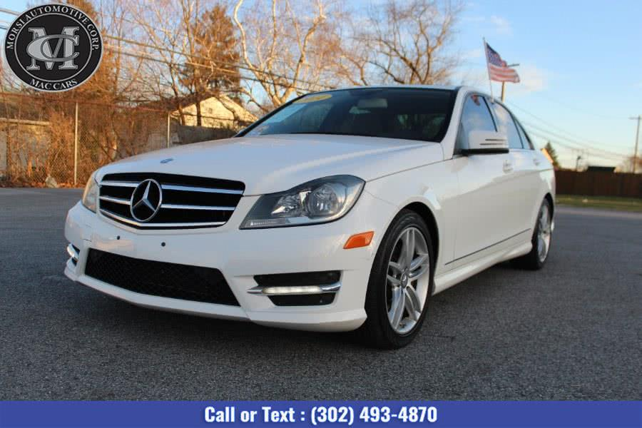 Used Mercedes-Benz C-Class 4dr Sdn C300 Luxury 4MATIC 2014 | Morsi Automotive Corp. New Castle, Delaware