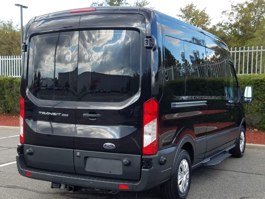 "2016 Ford Transit Wagon T-350 148"" Med Roof XLT 15-Passenger Seating,Leather,Back Up Camera, available for sale in Queens, NY"