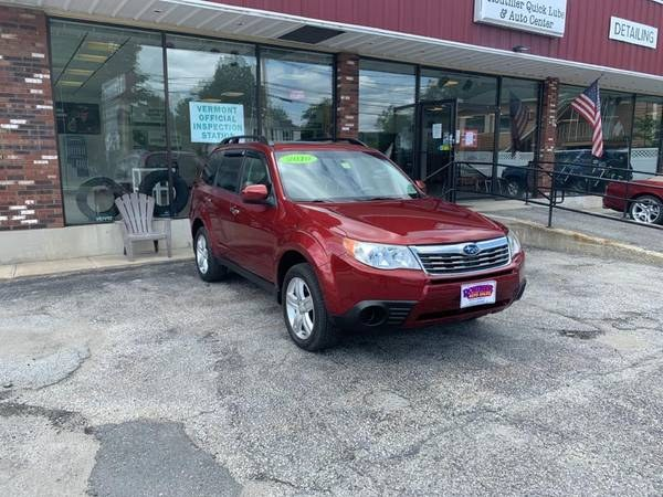 Used Subaru Forester 4dr Man 2.5X Premium w/All-Weather Pkg 2010 | Routhier Auto Center. Barre, Vermont
