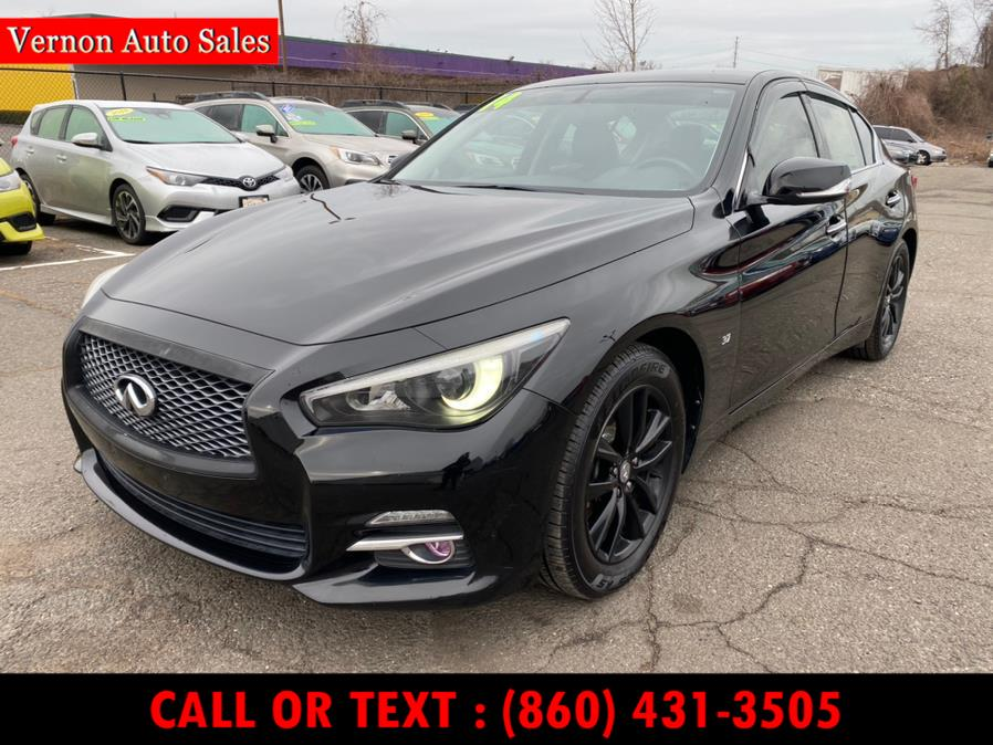 Used 2014 INFINITI Q50 in Manchester, Connecticut | Vernon Auto Sale & Service. Manchester, Connecticut