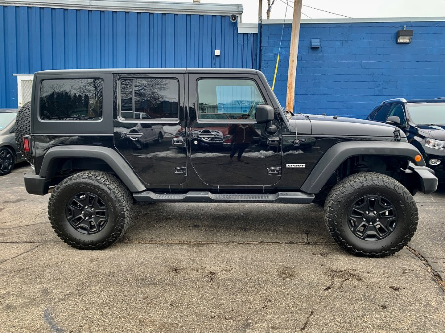 Used 2017 Jeep Wrangler Unlimited in Manchester, New Hampshire | Second Street Auto Sales Inc. Manchester, New Hampshire