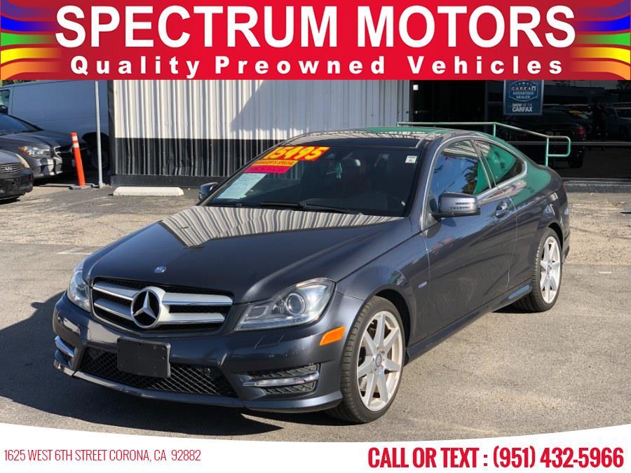 Used 2012 Mercedes-Benz C-Class in Corona, California | Spectrum Motors. Corona, California