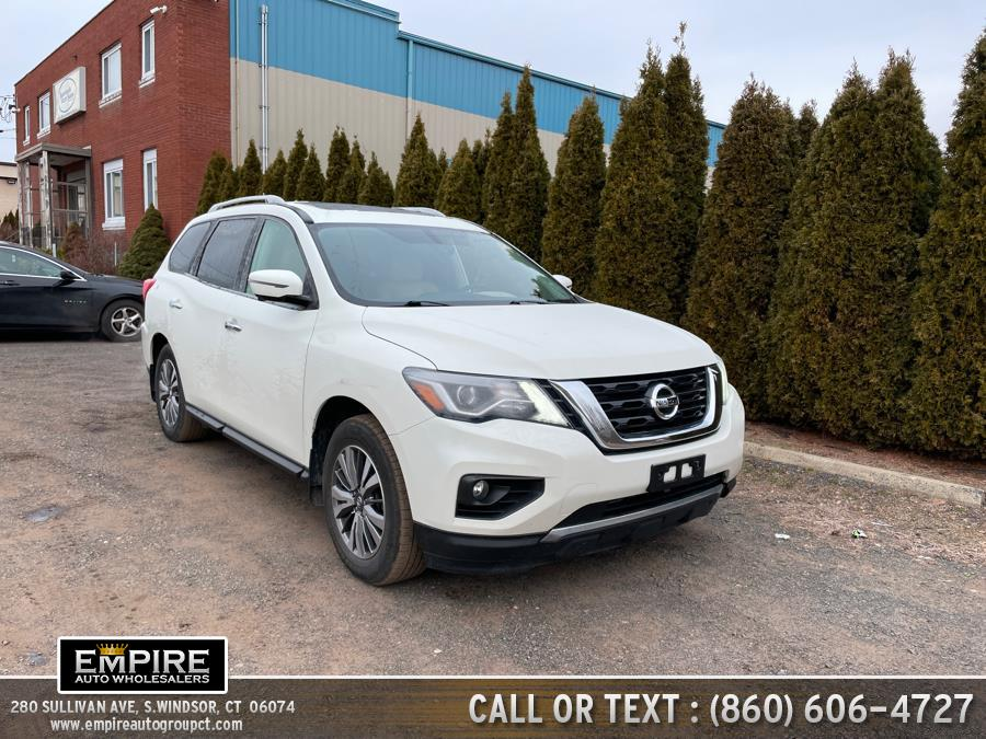 Used 2018 Nissan Pathfinder in S.Windsor, Connecticut | Empire Auto Wholesalers. S.Windsor, Connecticut