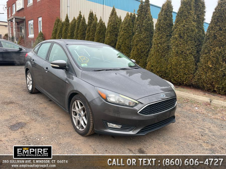 Used Ford Focus 4dr Sdn SE 2015 | Empire Auto Wholesalers. S.Windsor, Connecticut