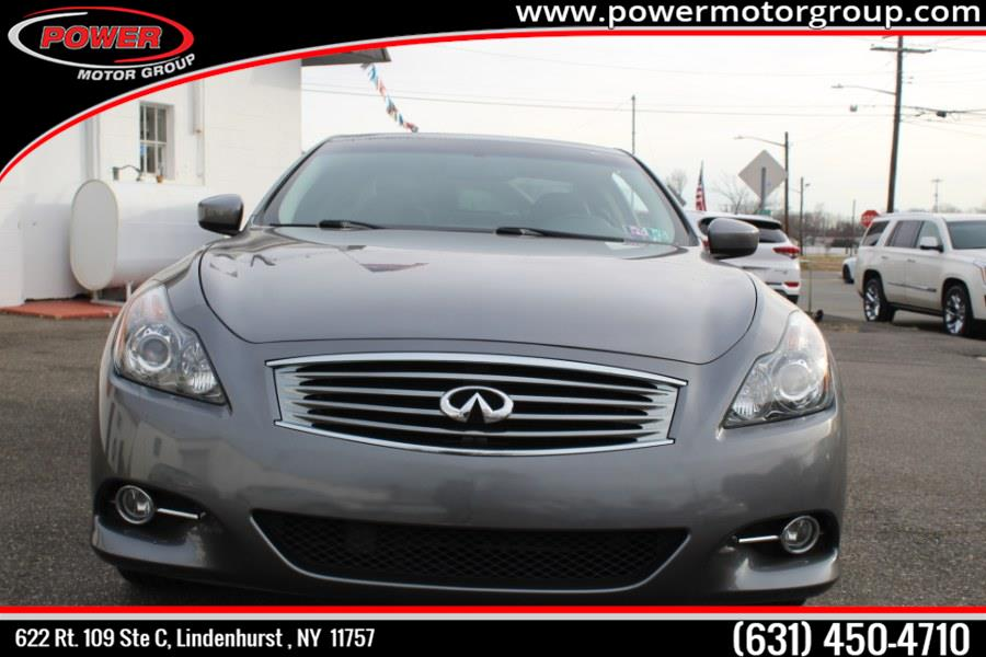 Used Infiniti G37 Coupe 2dr x AWD 2013 | Power Motor Group. Lindenhurst , New York