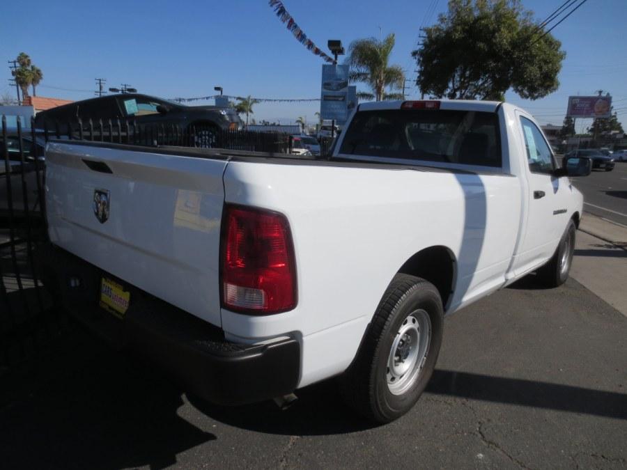 "Used Ram 1500 2WD Reg Cab 140.5"" ST 2012   Auto Max Of Santa Ana. Santa Ana, California"