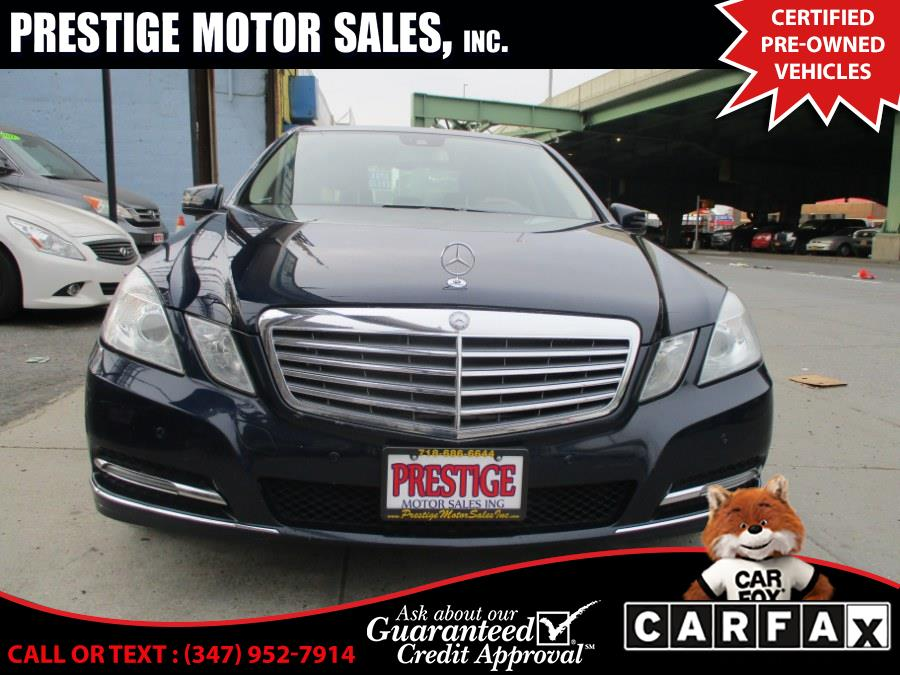 Used Mercedes-Benz E-Class 4dr Sdn E350 Luxury 4MATIC *Ltd Avail* 2013 | Prestige Motor Sales Inc. Brooklyn, New York
