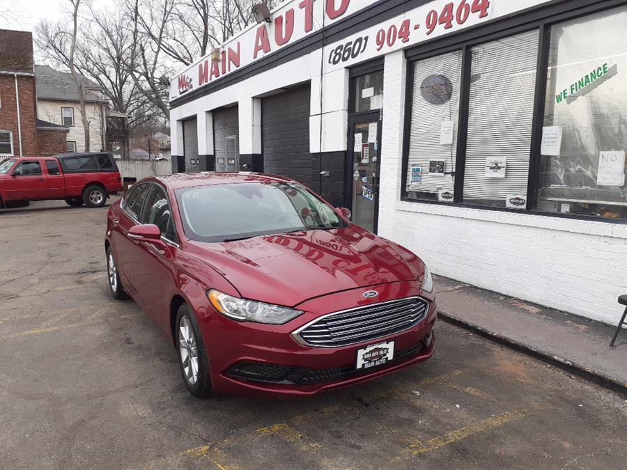 Used Ford Fusion SE FWD 2017 | Main Auto Sales LLC. Hartford, Connecticut