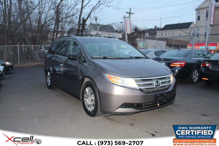 Used 2012 Honda Odyssey EX-L in Paterson, New Jersey | Xcell Motors LLC. Paterson, New Jersey
