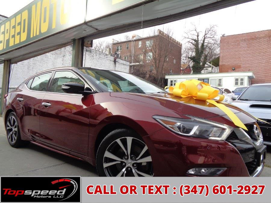 Used 2016 Nissan Maxima in Jamaica, New York | Top Speed Motors LLC. Jamaica, New York