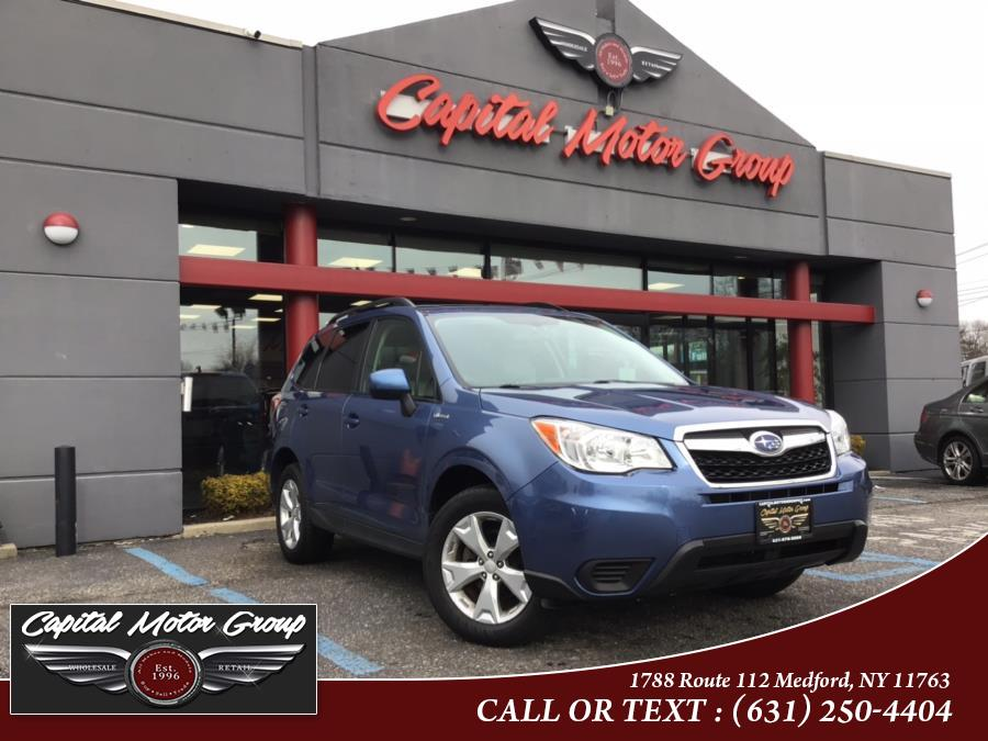 Used Subaru Forester 4dr CVT 2.5i Premium PZEV 2016 | Capital Motor Group Inc. Medford, New York