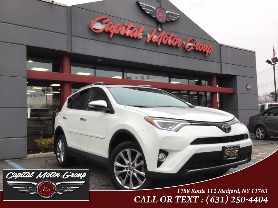 Used Toyota RAV4 Limited AWD (Natl) 2018 | Capital Motor Group Inc. Medford, New York