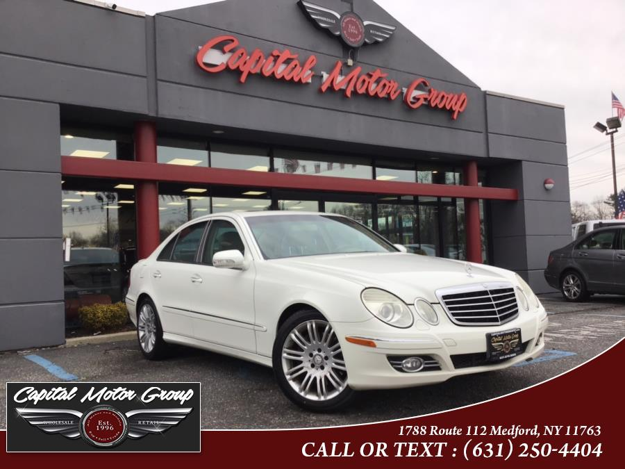 Used Mercedes-Benz E-350 4dr Sdn 3.5L 4MATIC 2007 | Capital Motor Group Inc. Medford, New York