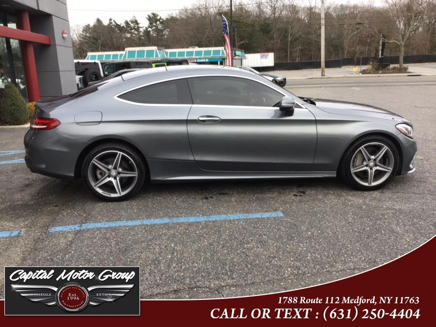 Used Mercedes-Benz C-Class C 300 4MATIC Coupe 2017 | Capital Motor Group Inc. Medford, New York