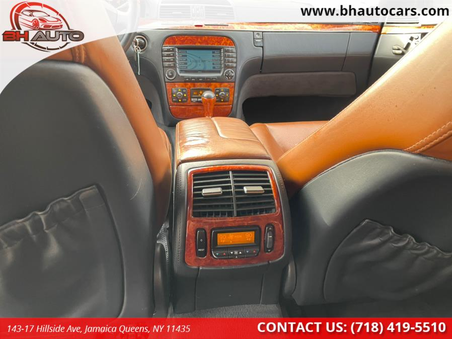 Used Mercedes-Benz S-Class 4dr Sdn 5.0L 4MATIC 2004 | BH Auto. Jamaica Queens, New York