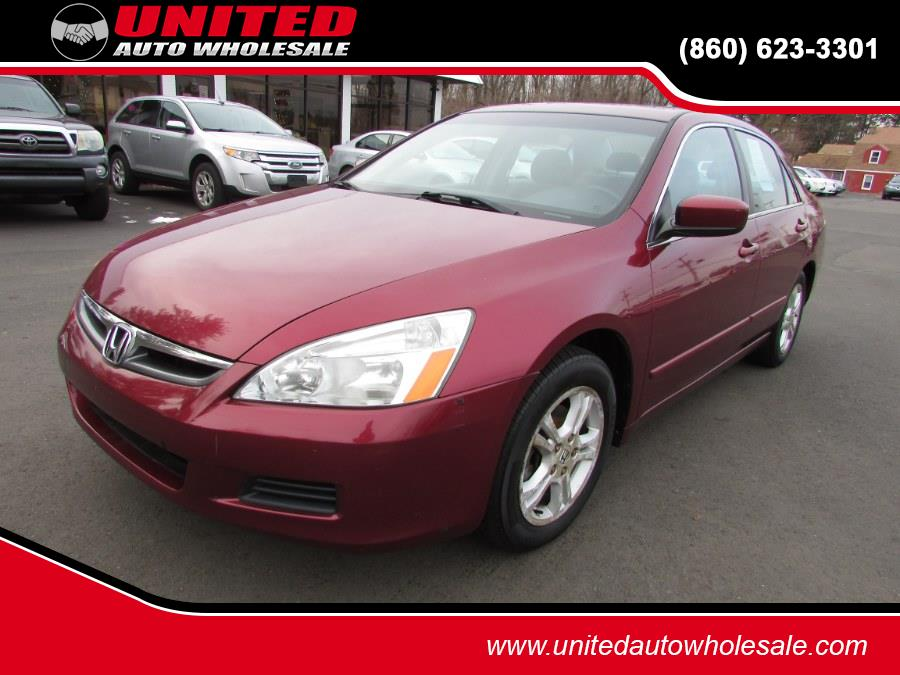 Used 2006 Honda Accord Sdn in East Windsor, Connecticut | United Auto Sales of E Windsor, Inc. East Windsor, Connecticut