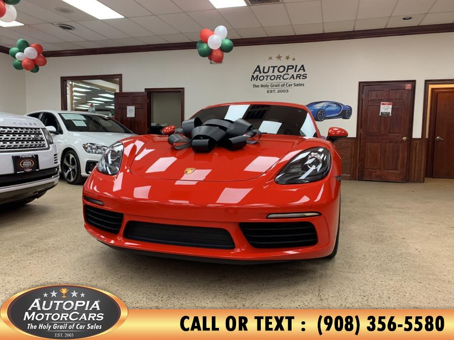 Used 2018 Porsche 718 Cayman in Union, New Jersey | Autopia Motorcars Inc. Union, New Jersey