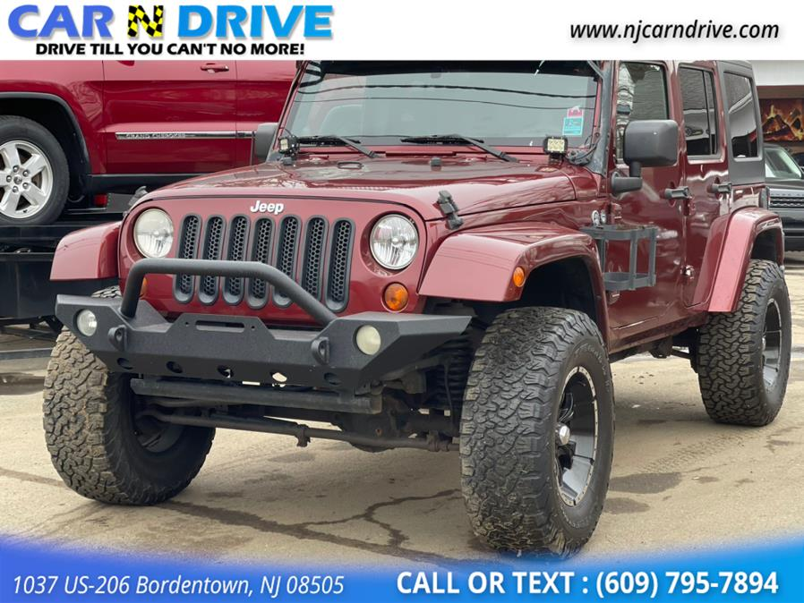 Used Jeep Wrangler Unlimited Sahara 4WD 2008 | Car N Drive. Bordentown, New Jersey