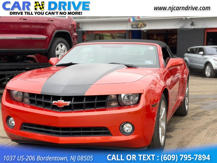 Used Chevrolet Camaro Convertible LT 2012 | Car N Drive. Bordentown, New Jersey