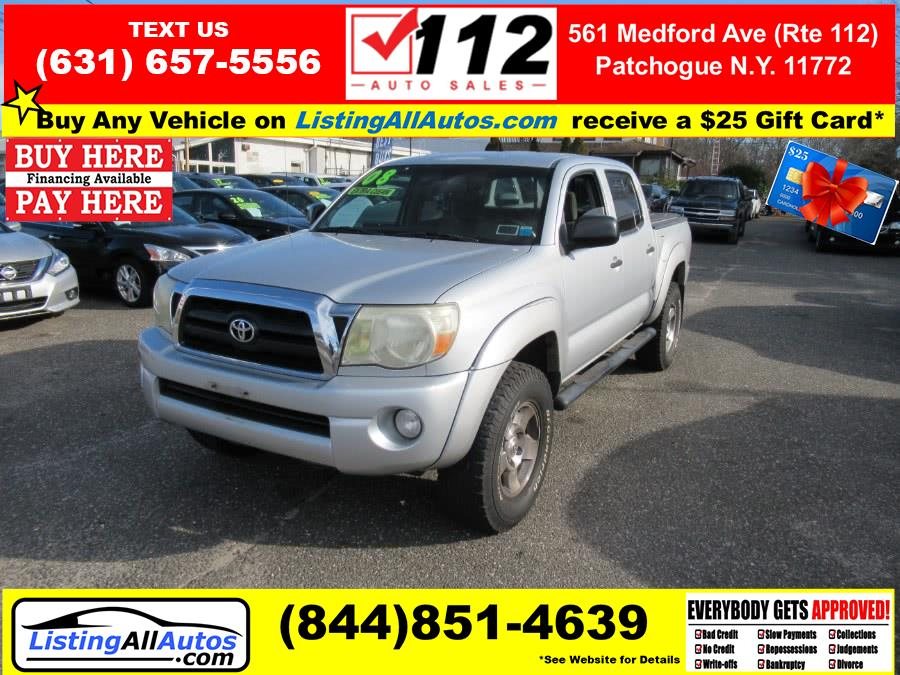 Used 2008 Toyota Tacoma in Patchogue, New York | www.ListingAllAutos.com. Patchogue, New York