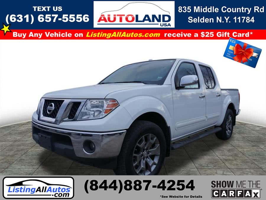 Used 2016 Nissan Frontier in Patchogue, New York | www.ListingAllAutos.com. Patchogue, New York