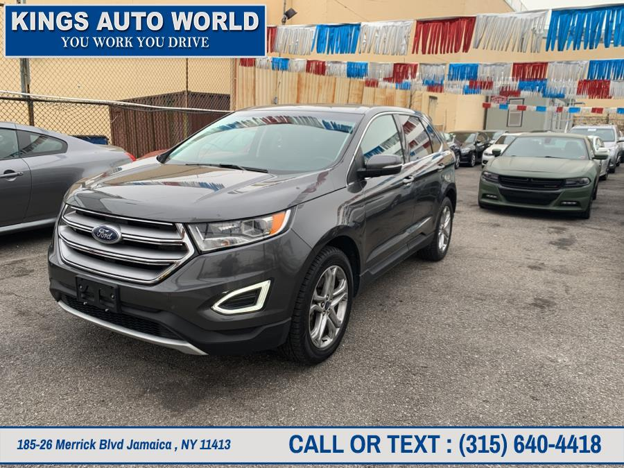Used Ford Edge Titanium AWD 2018 | Kings Auto World. Jamaica , New York