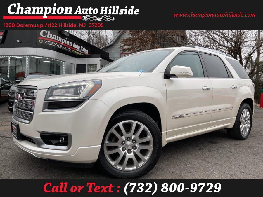 Used 2015 GMC Acadia in Hillside, New Jersey | Champion Auto Sales. Hillside, New Jersey