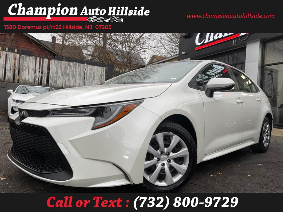 Used 2020 Toyota Corolla in Hillside, New Jersey | Champion Auto Sales. Hillside, New Jersey
