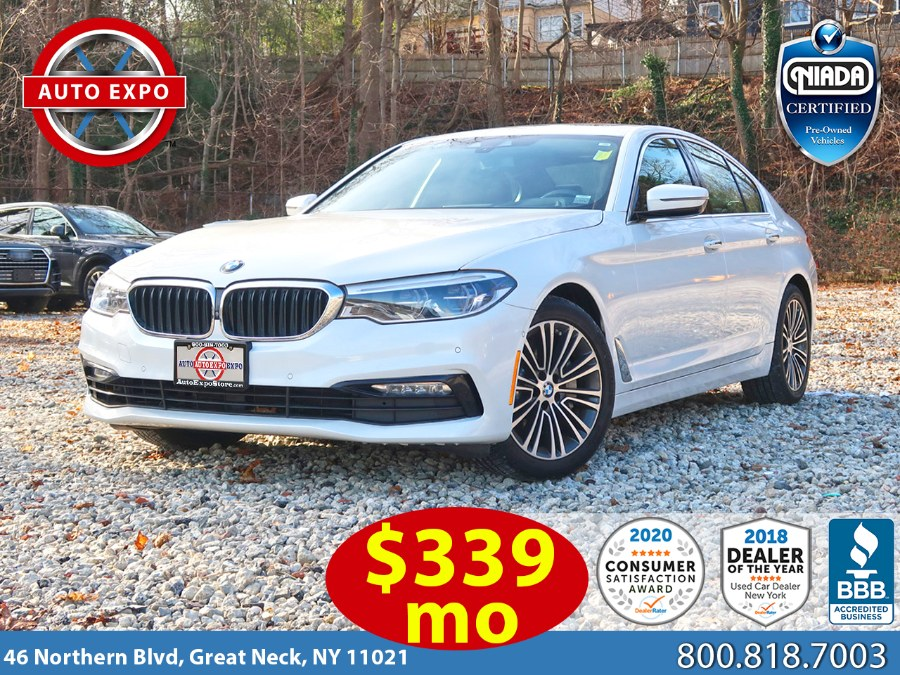 Used BMW 5 Series 540i xDrive Sport Line Package 2017 | Auto Expo Ent Inc.. Great Neck, New York