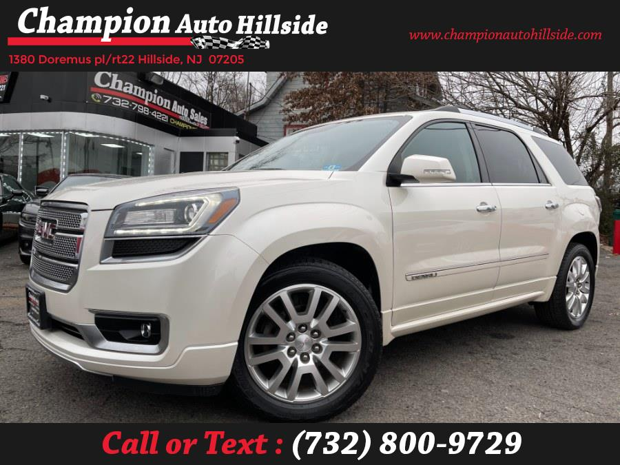 Used 2015 GMC Acadia in Hillside, New Jersey | Champion Auto Hillside. Hillside, New Jersey