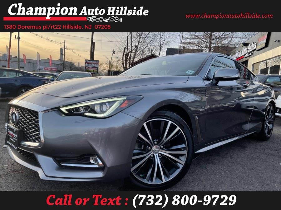 Used 2017 INFINITI Q60 in Hillside, New Jersey | Champion Auto Hillside. Hillside, New Jersey