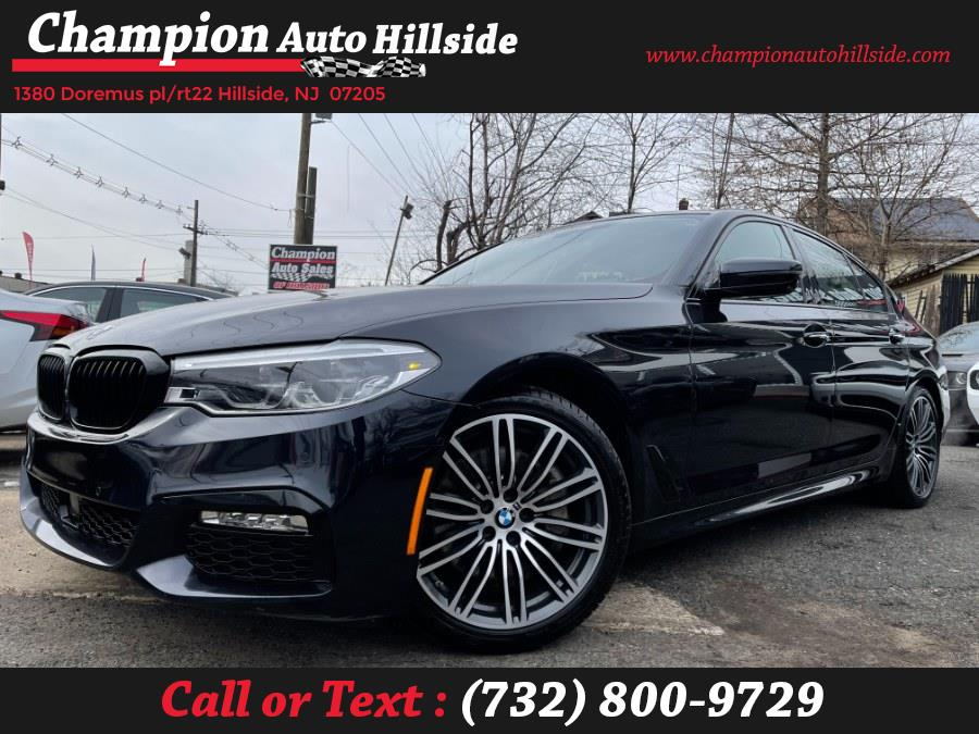 Used 2018 BMW 5 Series in Hillside, New Jersey | Champion Auto Hillside. Hillside, New Jersey