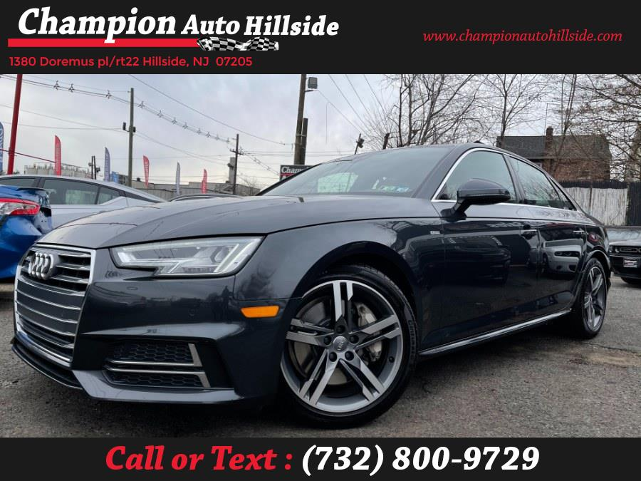 Used 2017 Audi A4 in Hillside, New Jersey | Champion Auto Hillside. Hillside, New Jersey