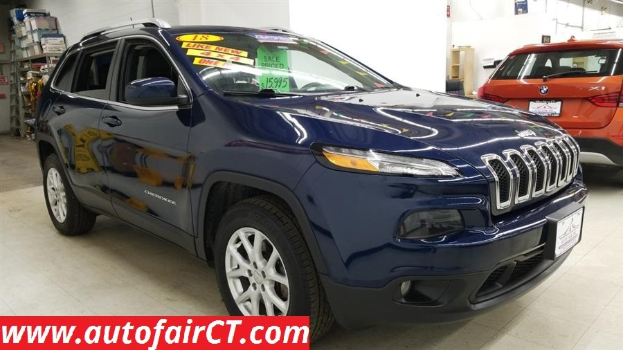 Used 2018 Jeep Cherokee in West Haven, Connecticut