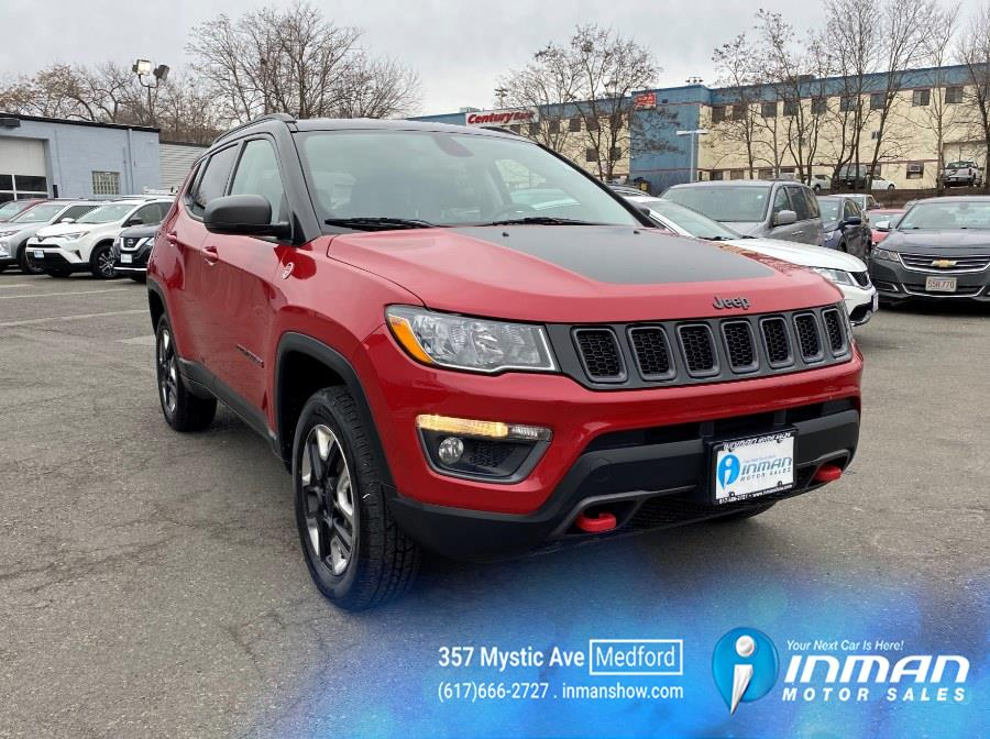 Used 2018 Jeep Compass in Medford, Massachusetts | Inman Motors Sales. Medford, Massachusetts