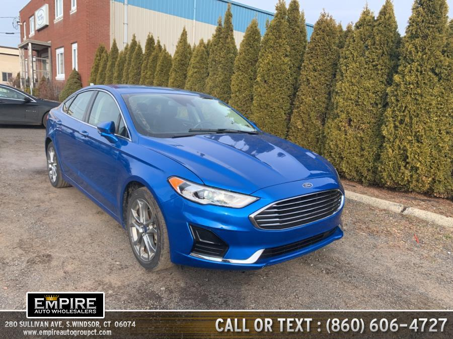 Used Ford Fusion SEL FWD 2019 | Empire Auto Wholesalers. S.Windsor, Connecticut