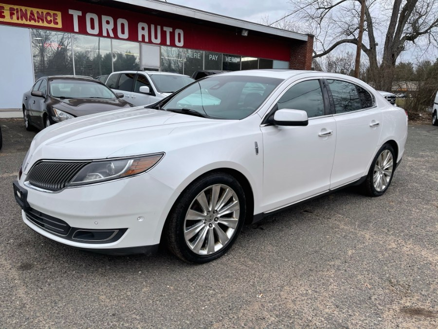 Used Lincoln MKS 4dr Sdn 3.5L AWD EcoBoost Navi Panoramic Leather 2013 | Toro Auto. East Windsor, Connecticut