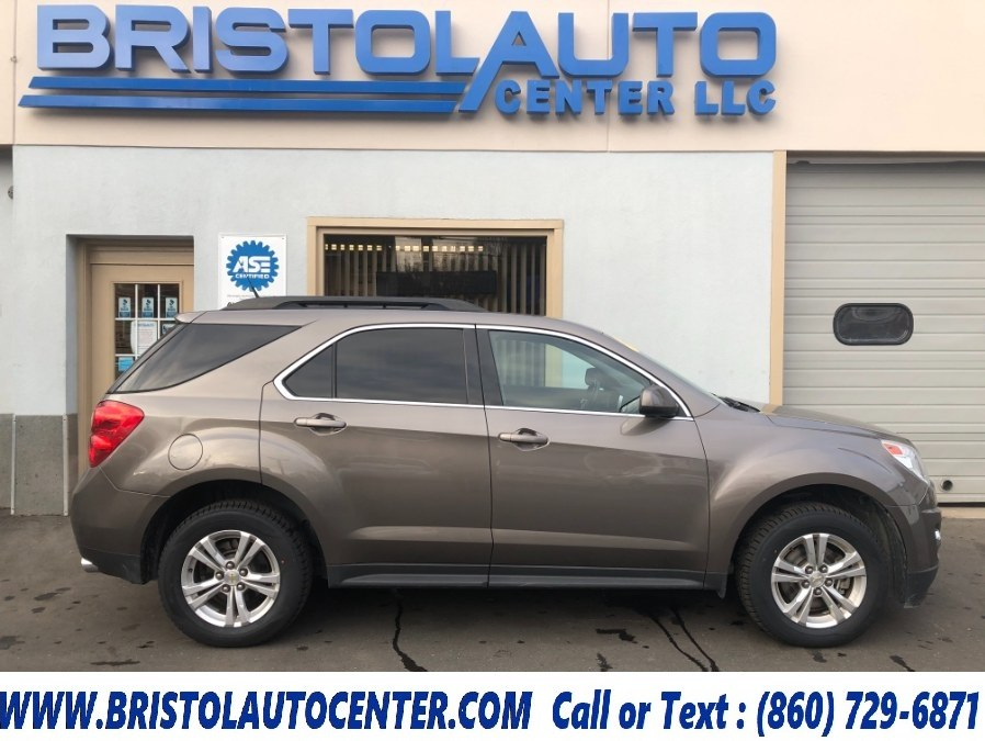 2012 Chevrolet Equinox AWD 4dr LT w/2LT, available for sale in Bristol, CT