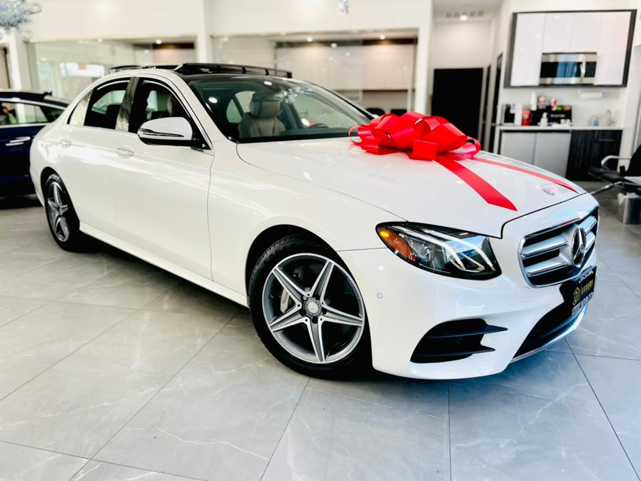 Used Mercedes-Benz E-Class E 300 Sport 4MATIC Sedan 2017 | Luxury Motor Club. Franklin Square, New York