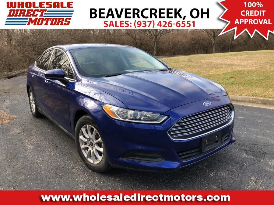 Used Ford Fusion 4dr Sdn S FWD 2016 | Wholesale Direct Motors. Beavercreek, Ohio