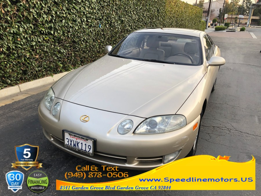 Used Lexus SC 300 2dr Coupe Auto 1994 | Speedline Motors. Garden Grove, California